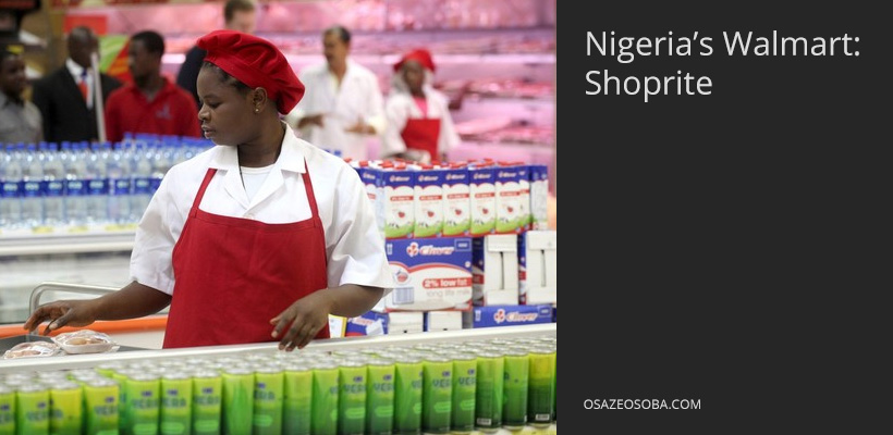 shoprite, nigeria's walmart